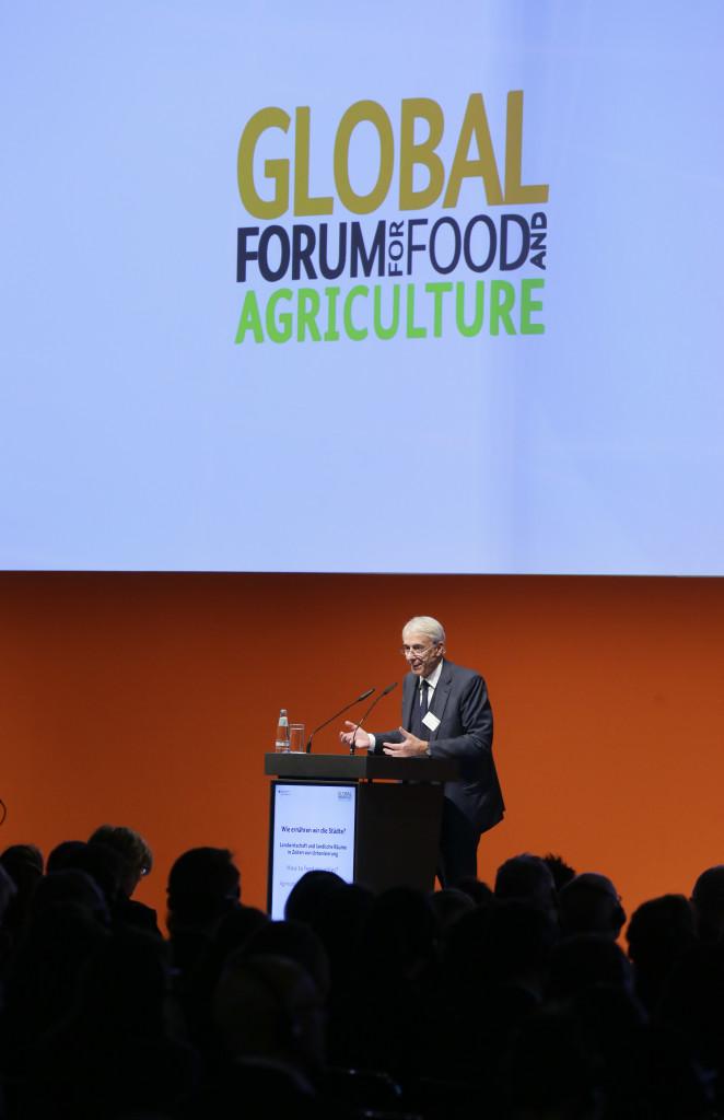 Global Forum for Food and Agriculture ( GFFA)  2016 (Credits Thomas Trutschel/ photothek.net/ Bundesministerium fuer Ernaehrung und Landwirtschaft)