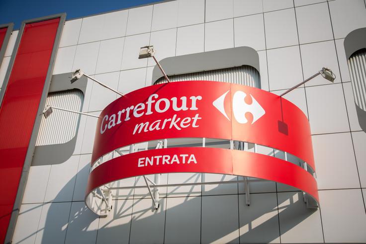Insegna Carrefour