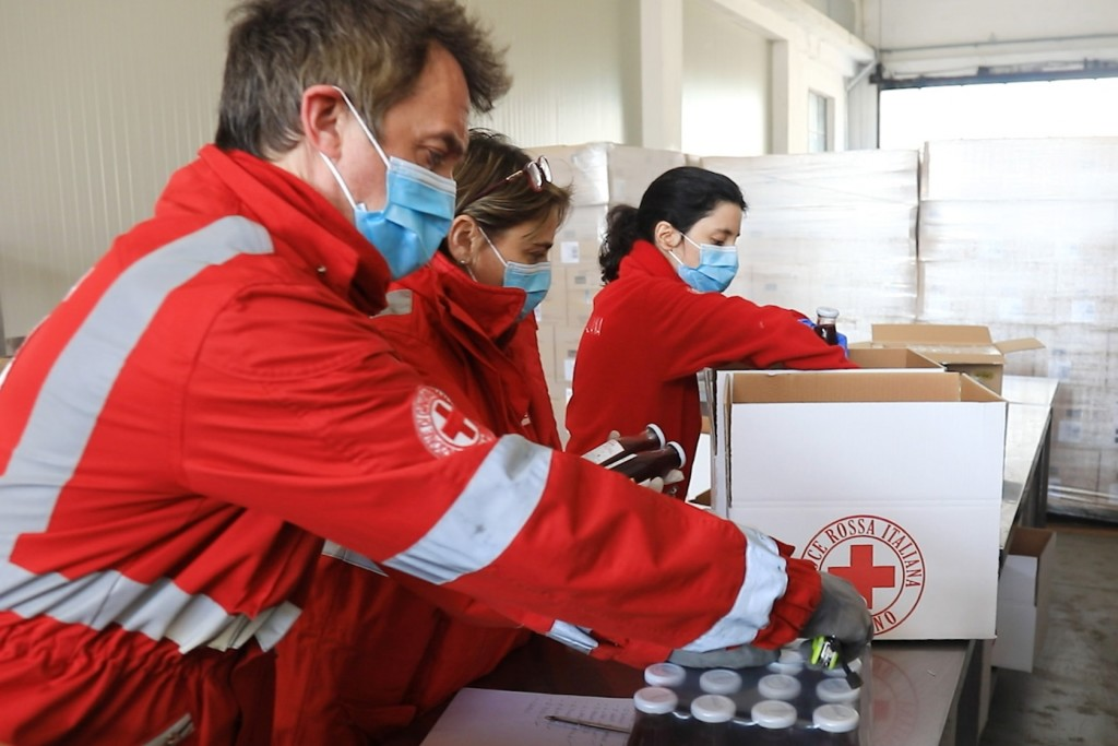 Foto: Croce Rossa, Comitato di Milano