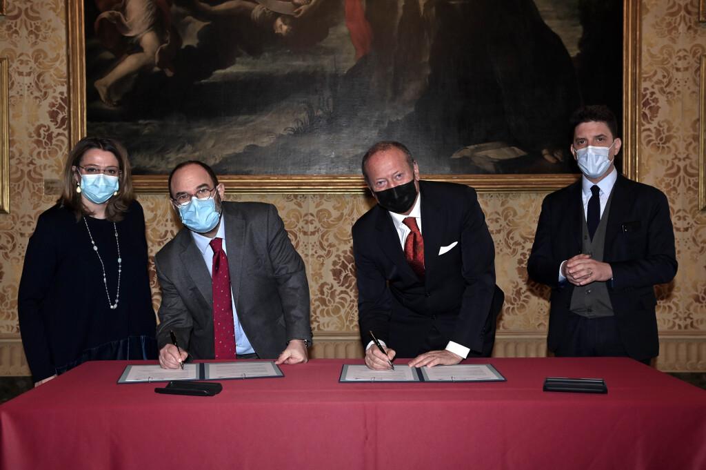 Sottoscrizione lettera d'Intesa tra SOGEMI e Milano Ristorazione
